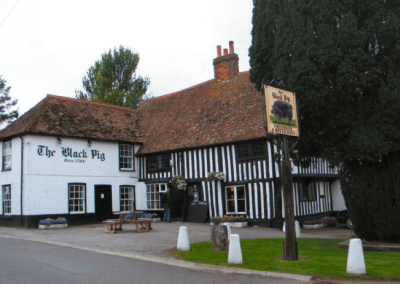 Black Pig Public House, Staple